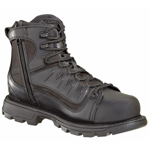 Thorogood Mens Gen-Flex2 6 Inch Side Zip Black Boots 804-6447