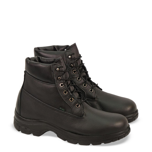 """Thorogood Mens Soft Streets WP & Insulated 6"""" WB Black Boots 834-6342"""