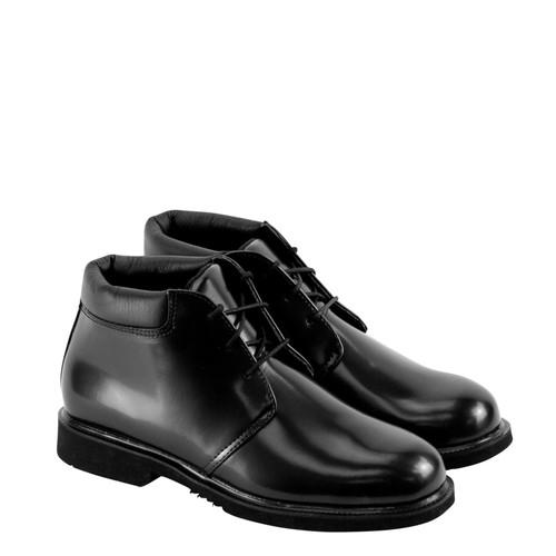 Thorogood Mens Uniform Classic Leather Chukka Black Boots 834-6032