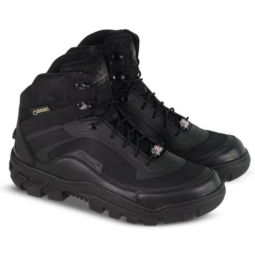 Thorogood Mens Veracity GTX Waterproof 5.5 Inch Black Boots 834-6015