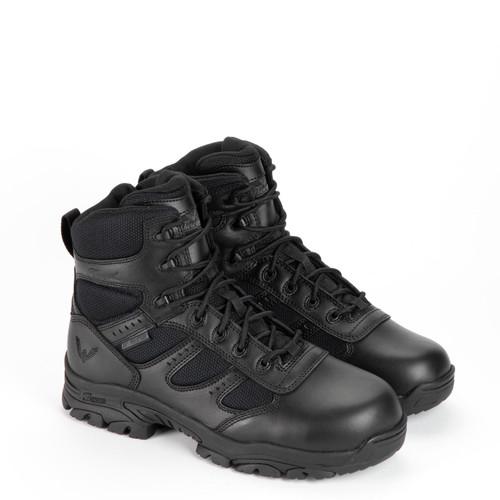 "Thorogood DG The Deuce Waterproof 6"" Tactical Side Zip Black Boots 834-6218"
