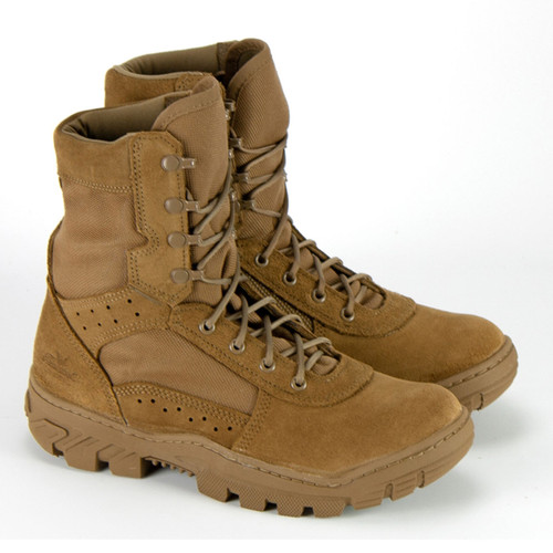 Thorogood Mens War Fighter 8 Inch Coyote Military Tan Boots 813-8800