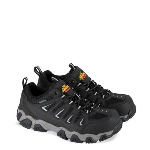 Thorogood DG Crosstrex WP Oxford Safety Toe Hiker Black Boots 804-6293