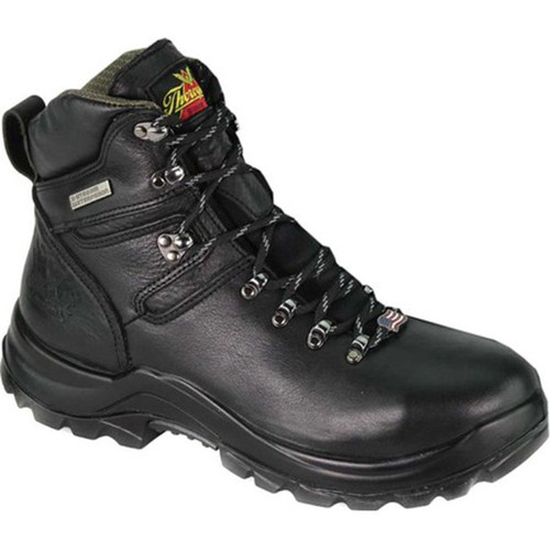 Thorogood Mens Omni Series 6 Inch Black Safety Toe Boots 804-6266