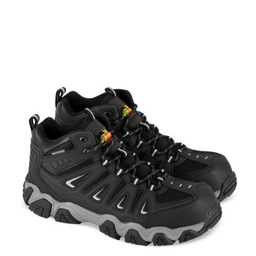 Thorogood DG Crosstrex Waterproof Mid Cut Safety Toe Hiker Boots 804-6292