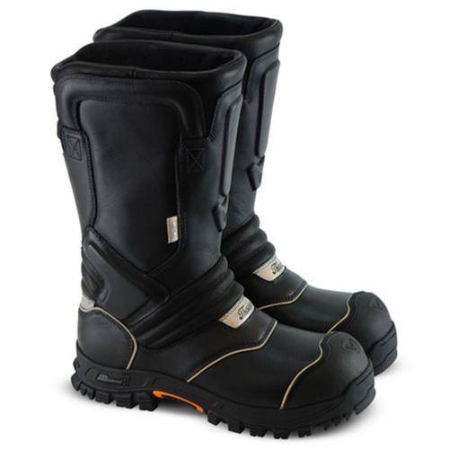Thorogood Mens QR14 Mens 14 Inch Structural Bunker Black Boots 804-6369