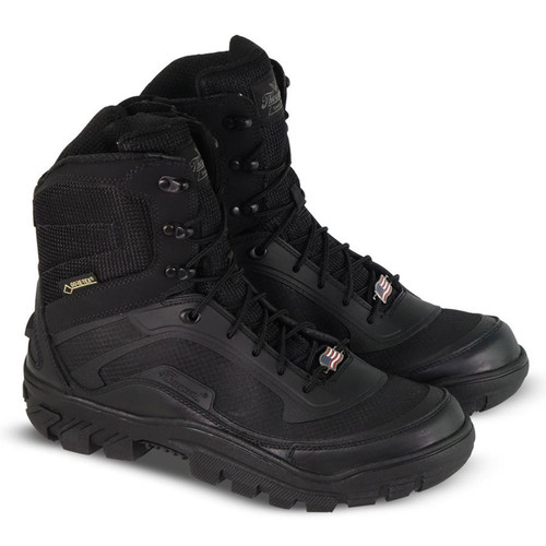 "Thorogood Mens Veracity GTX Waterproof 7"" SZ Black ST Boots 804-6016"