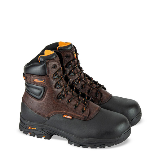 """Thorogood DG Crossover Waterproof 7"""" CST Brown Boots 804-4808"""