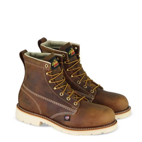 "Thorogood Mens American Heritage 6"" Trail Crazyhorse ST MW90 Boots 804-4374"