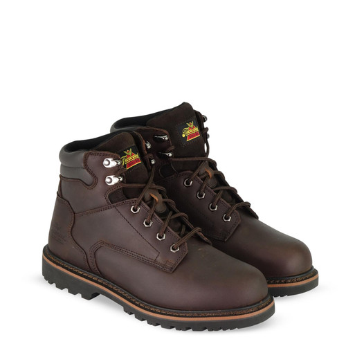 Thorogood Dual Gender V Series 6 Inch Brown Safety Toe Boots 804-4278