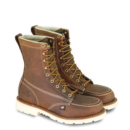 "Thorogood Mens American Heritage 8"" Trail Crazyhorse ST MW90 Boots 804-4378"