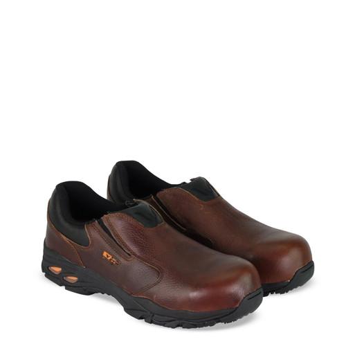 Thorogood DG VGS 300 SDC ST Slip On Oxford Brown Boots 804-4061