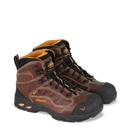"""Thorogood Mens VGS 300 SD 8 """"Brown CST Hiker Boots 804-4037"""