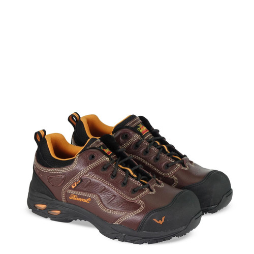 Thorogood DG Sport Oxford ASR SDC Safety Toe Brown Boots 804-4035
