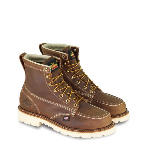 """Thorogood Mens AH 6"""" Trail Crazyhorse ST MOC Toe MW90 Boots 804-4375"""