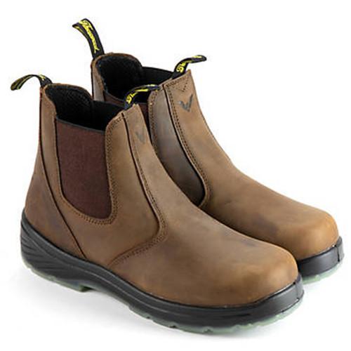 "Thorogood Mens Thoro Flex 6"" Trail Crazyhorse Composite ST Boots 804-3166"