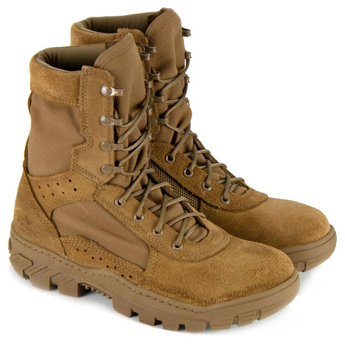 """Thorogood Mens War Fighter 8"""" Coyote ST Military Tan Boots 803-8800"""