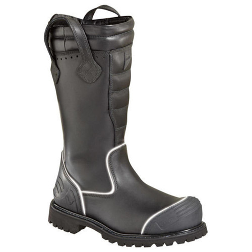 Thorogood Womens QR14 14 Inch Structural Bunker Boot Black Boots 504-6369