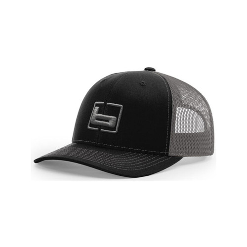 Banded R112 Trucker Caps, Black/Charcoal