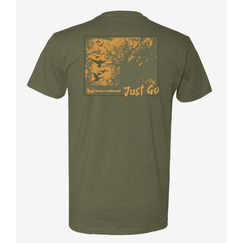 Banded Shadows Of Timber Short Sleeve Logo T-Shirts