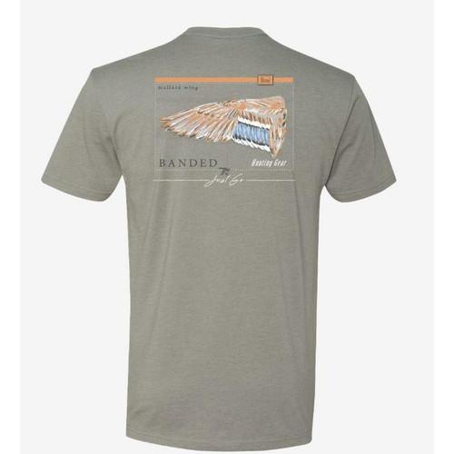 Banded Mallard Wing Short Sleeve Logo T-Shirts