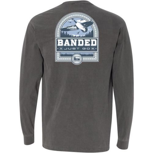 Banded Goose Badge Long-Sleeve Tees