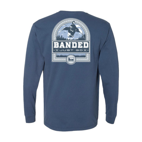 Banded Duck Badge Long Sleeve Tees