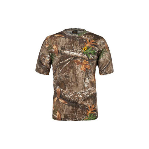 Scent Blocker Shield Series Youth Fused Cotton Short Sleeve Tops