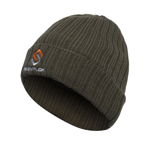 Scent-Lok Carbon Alloy Knit Cuff Forest Green Beanie