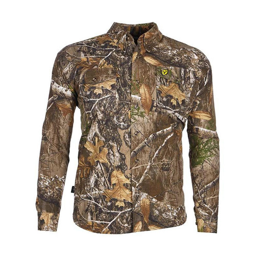 Scent Blocker Shield Series Fused Cotton 7 Button Up Shirts