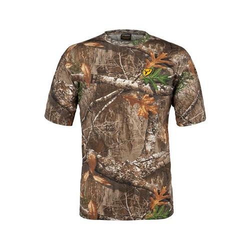 Scent Blocker Shield Series Fused Cotton Short Sleeve Tops