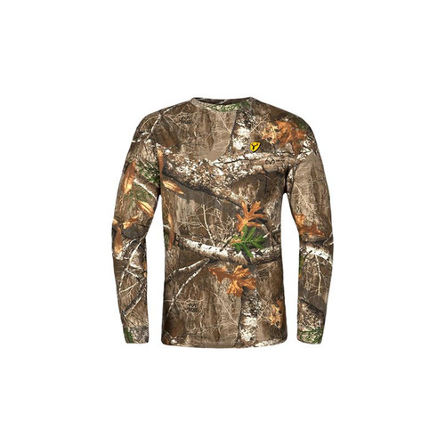 Scent Blocker Shield Series Youth Fused Cotton Long Sleeve Tops