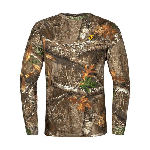 Scent Blocker Shield Series Fused Cotton Long Sleeve Tops
