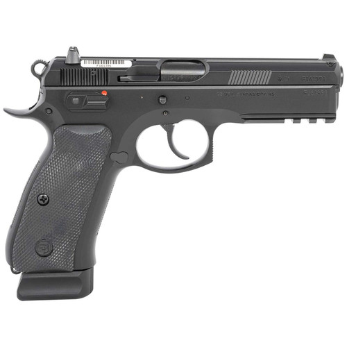 """CZ 75 SP-01 9mm 4.6"""" Barrel 18-Rounds with Fixed Night Sights 89152"""