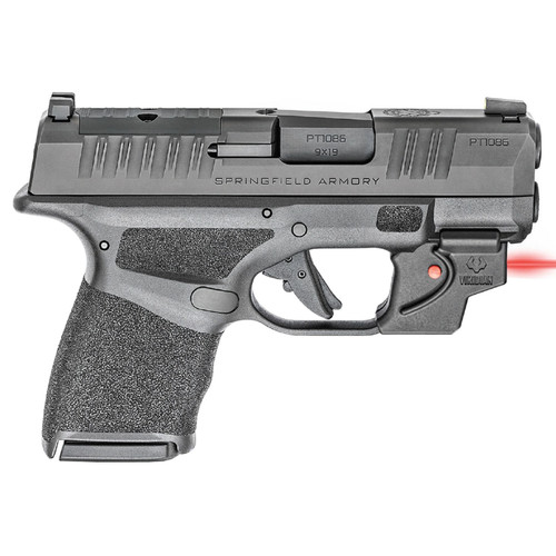 Springfield Hellcat OSP 9mm Micro-Compact Optics Ready Pistol with Viridian Laser, Holster, and 3 Magazines