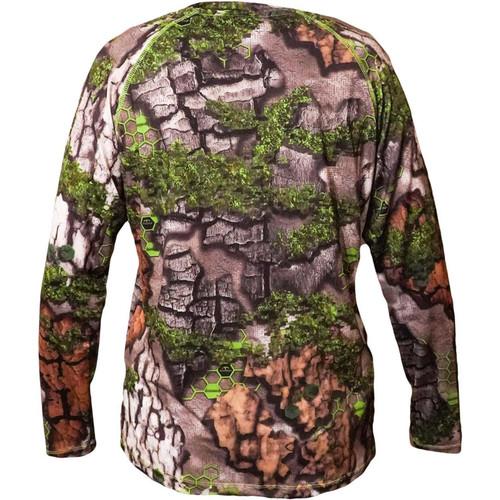 Treezyn Womens Gen 2 ES Vixzyn Early Seezyn Green Long Sleeve Shirts