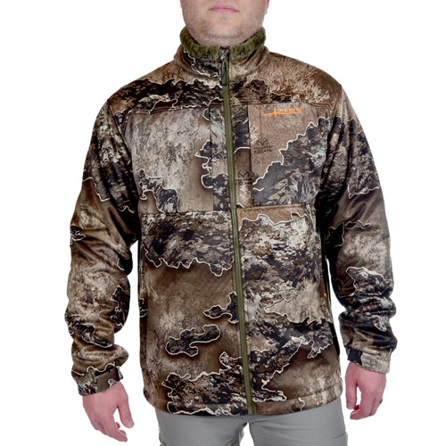 Habit Mens Early Dawn Sherpa Shell Jacket Realtree Excape