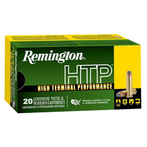 Remington HTP .357 Magnum Ammunition 158 Grain SJHP 1235 fps 20 Rounds
