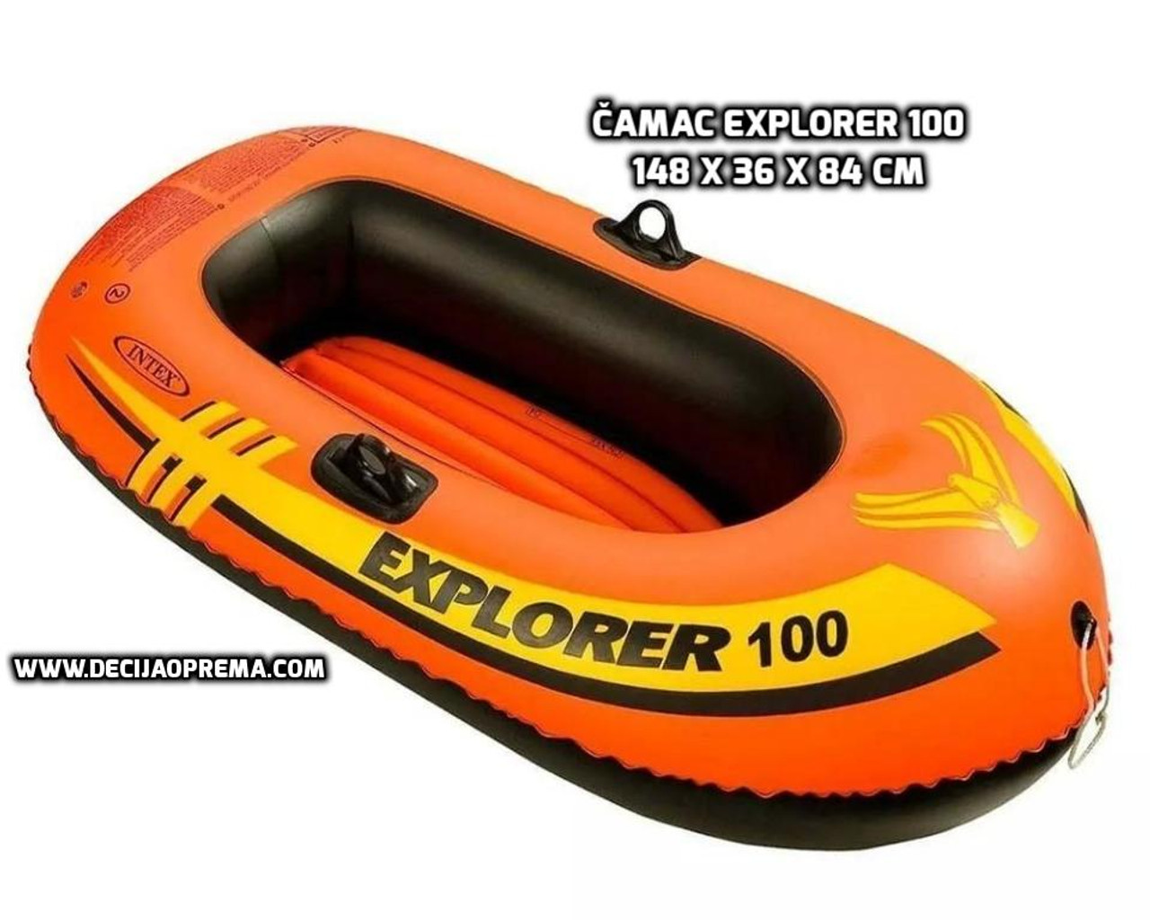 Čamac Explorer 100 INTEX model 58329