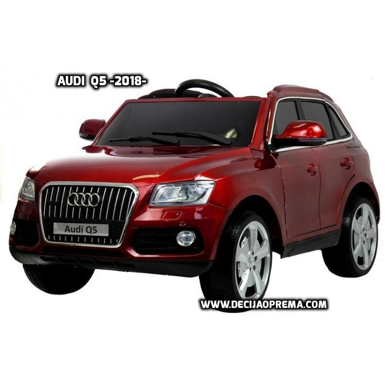 Audi Q5 2018 Licensed na akumulator za decu Bordo