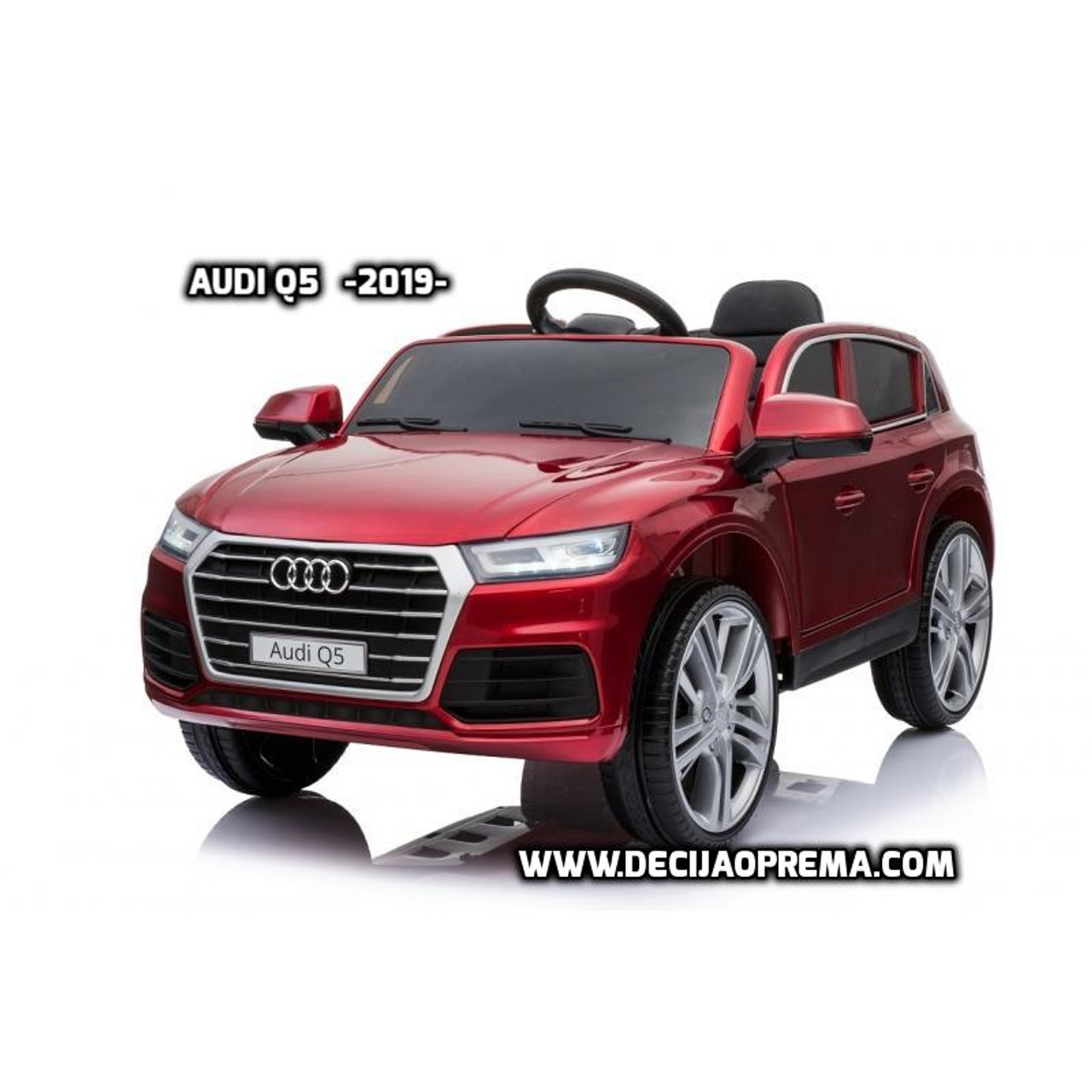 Audi Q5 2019 Licensed na akumulator za decu Bordo