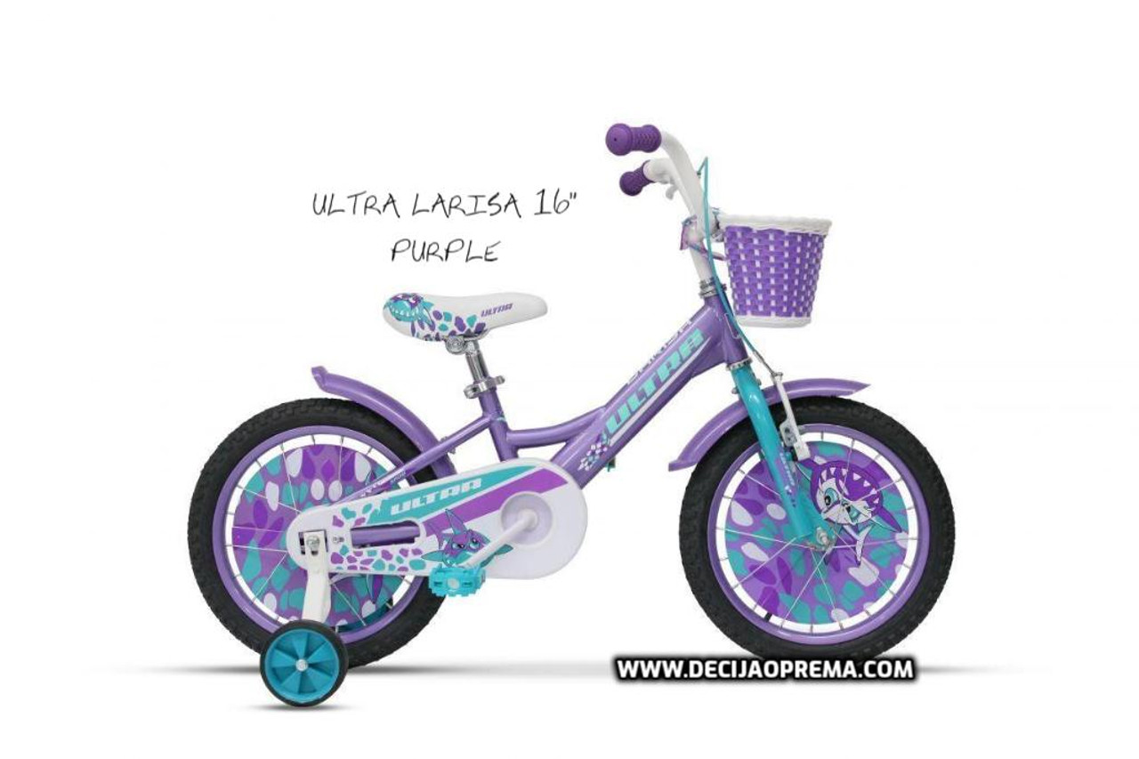 "Bicikl Ultra Larisa 16"" Purple"