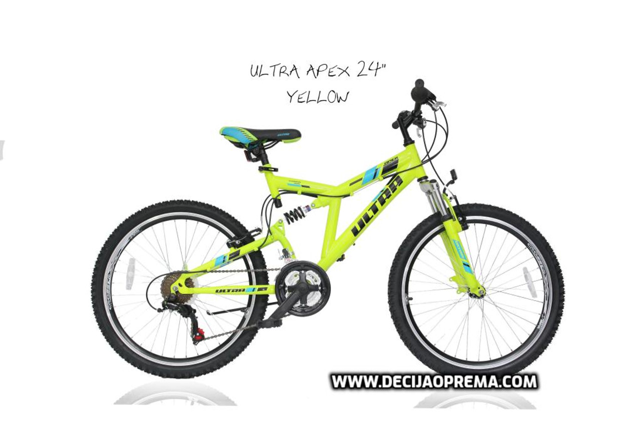 "Bicikl Ultra Apex 24"" Yellow"