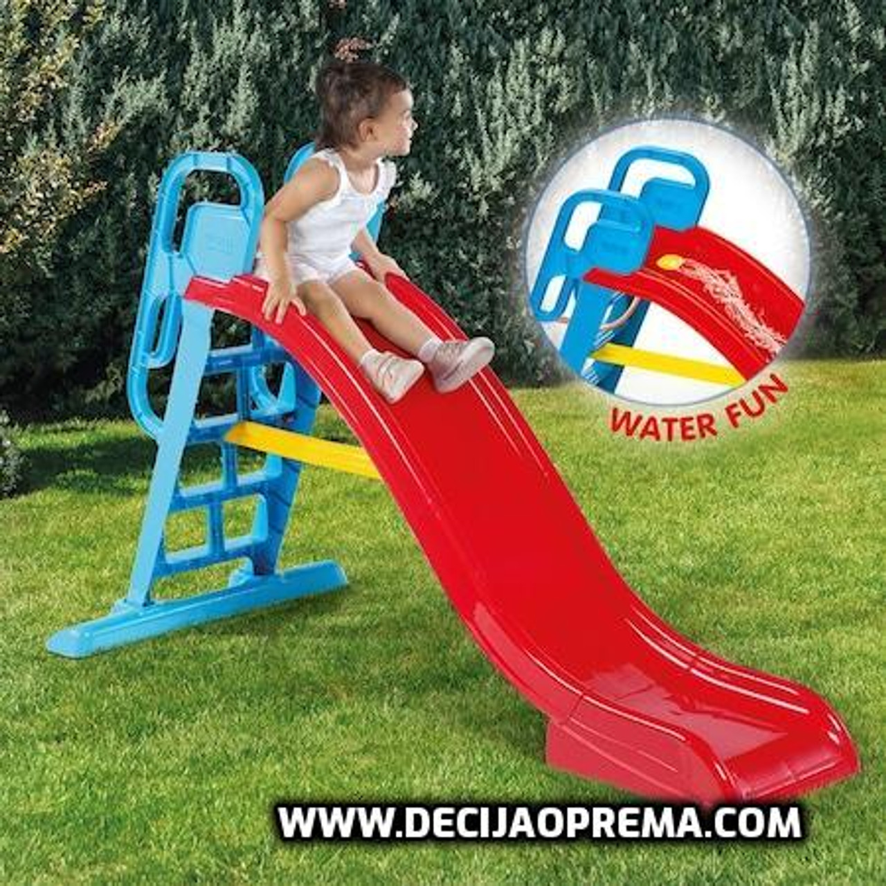 Tobogan Big Splash Slide Crveni