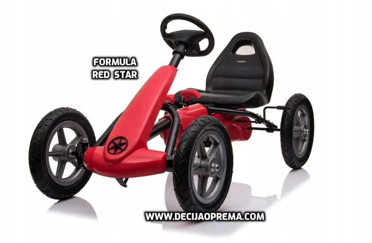 Formula na Pedale Red Star