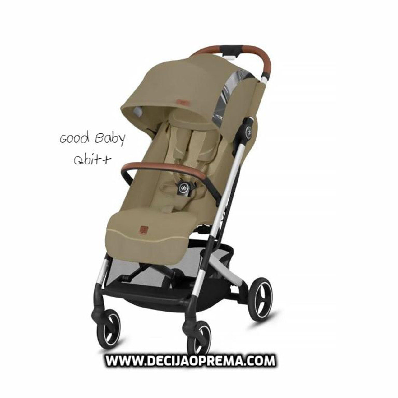 Kolica za bebe GB Qbit+ All city Fashion vanila beige