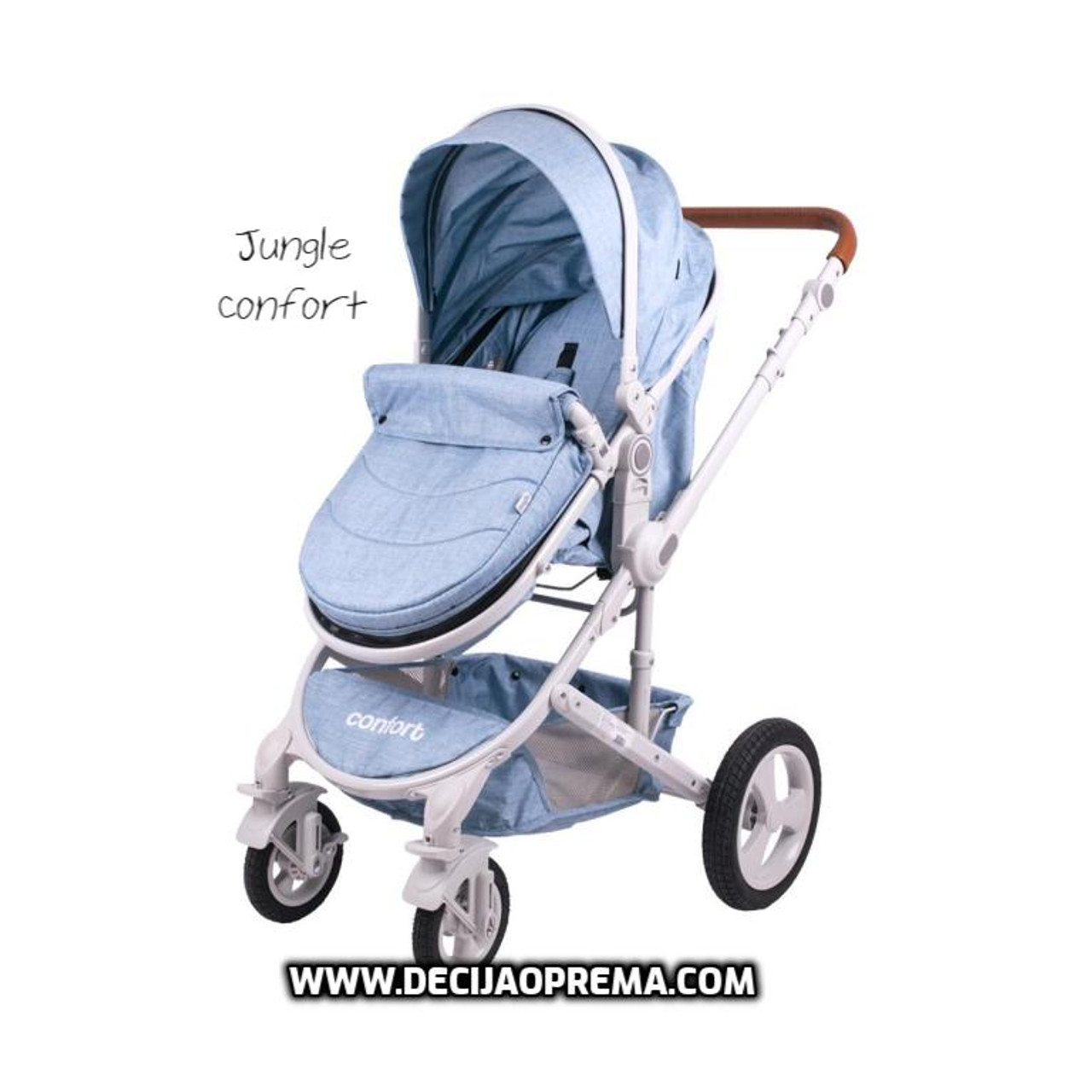 Kolica za bebe Jungle Comfort Blue
