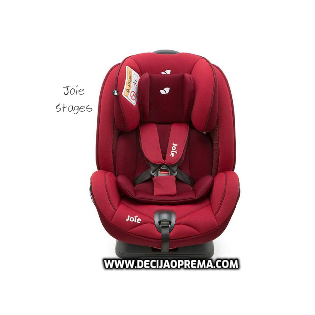 Auto Sedište Stages 0-25kg Joie Red