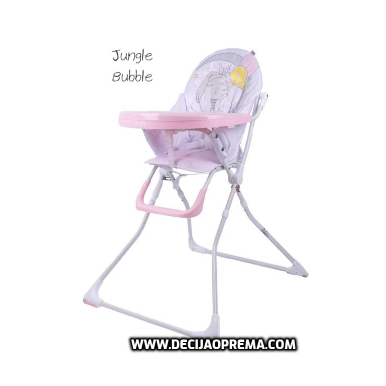Hranilica Jungle Bubble Pink