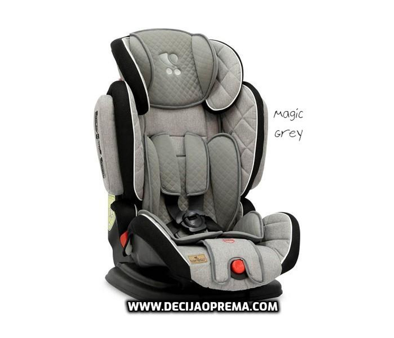 Auto Sedište Magic Premium 9-36kg Lorelli Bertoni Grey